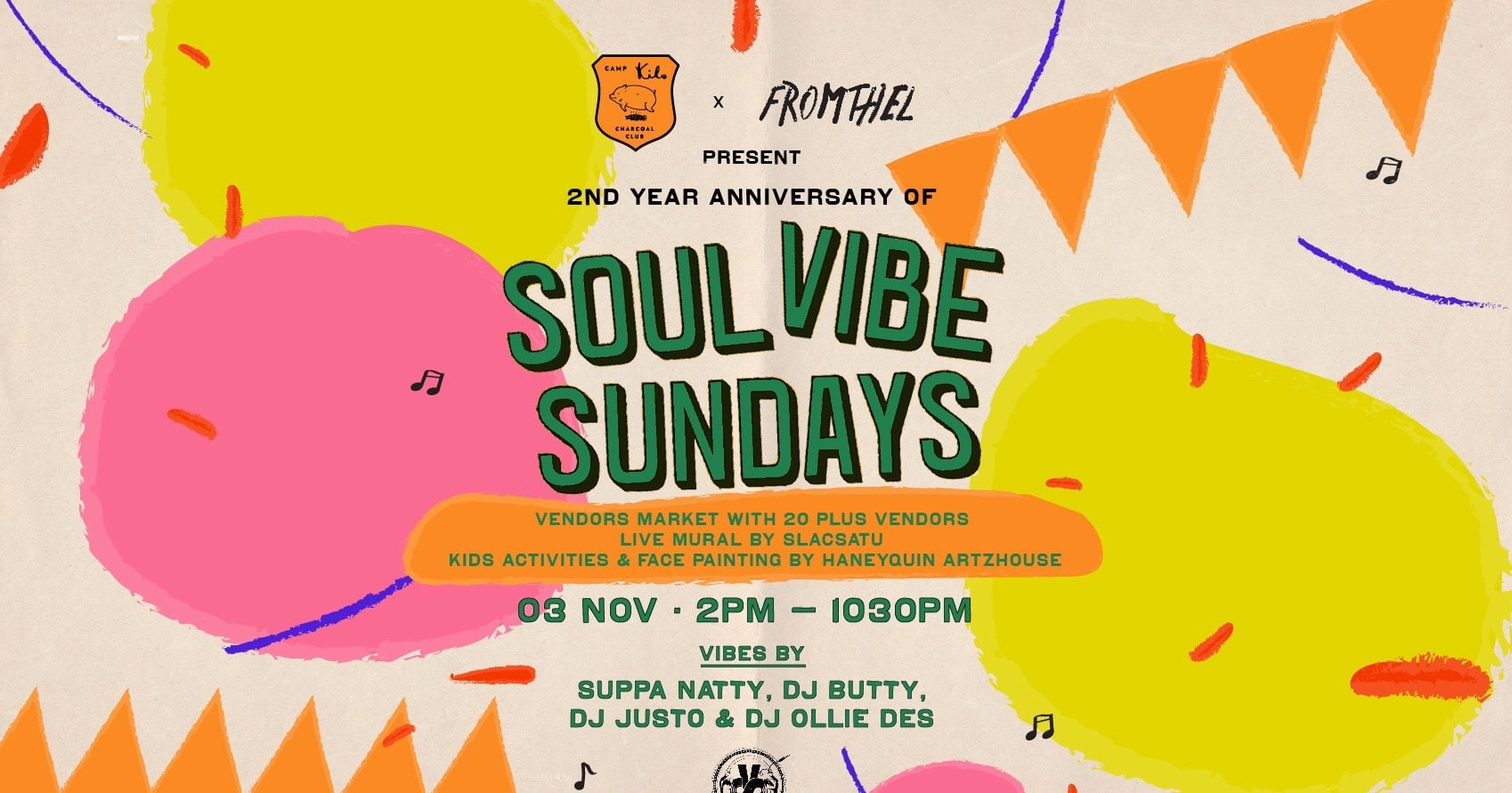Soul Vibe Sunday Weekend Event in Singapore
