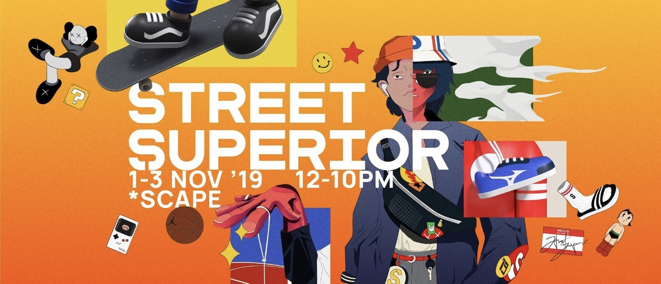 Street Superior Festival Weekend Event in Singapore