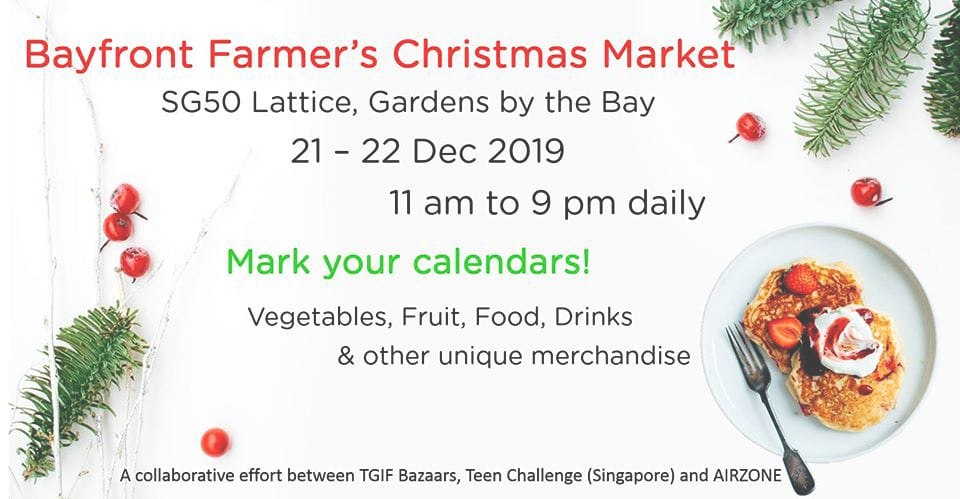 Christmas market in Singapore
