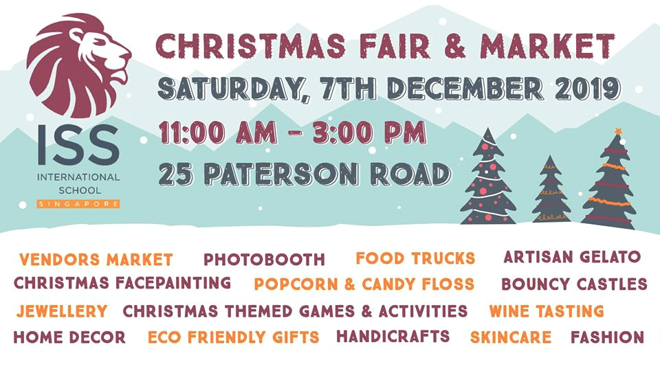 Christmas Fair and market in Singapore
