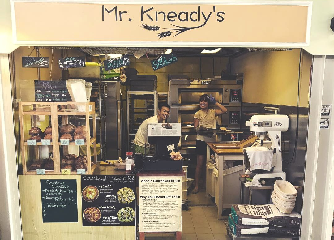 Mr. Kneady's Bakery in Singapore