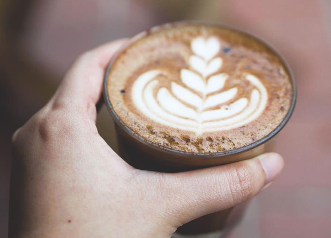 Sarnies Almond Milk Latte Coffee Cafe in Singapore