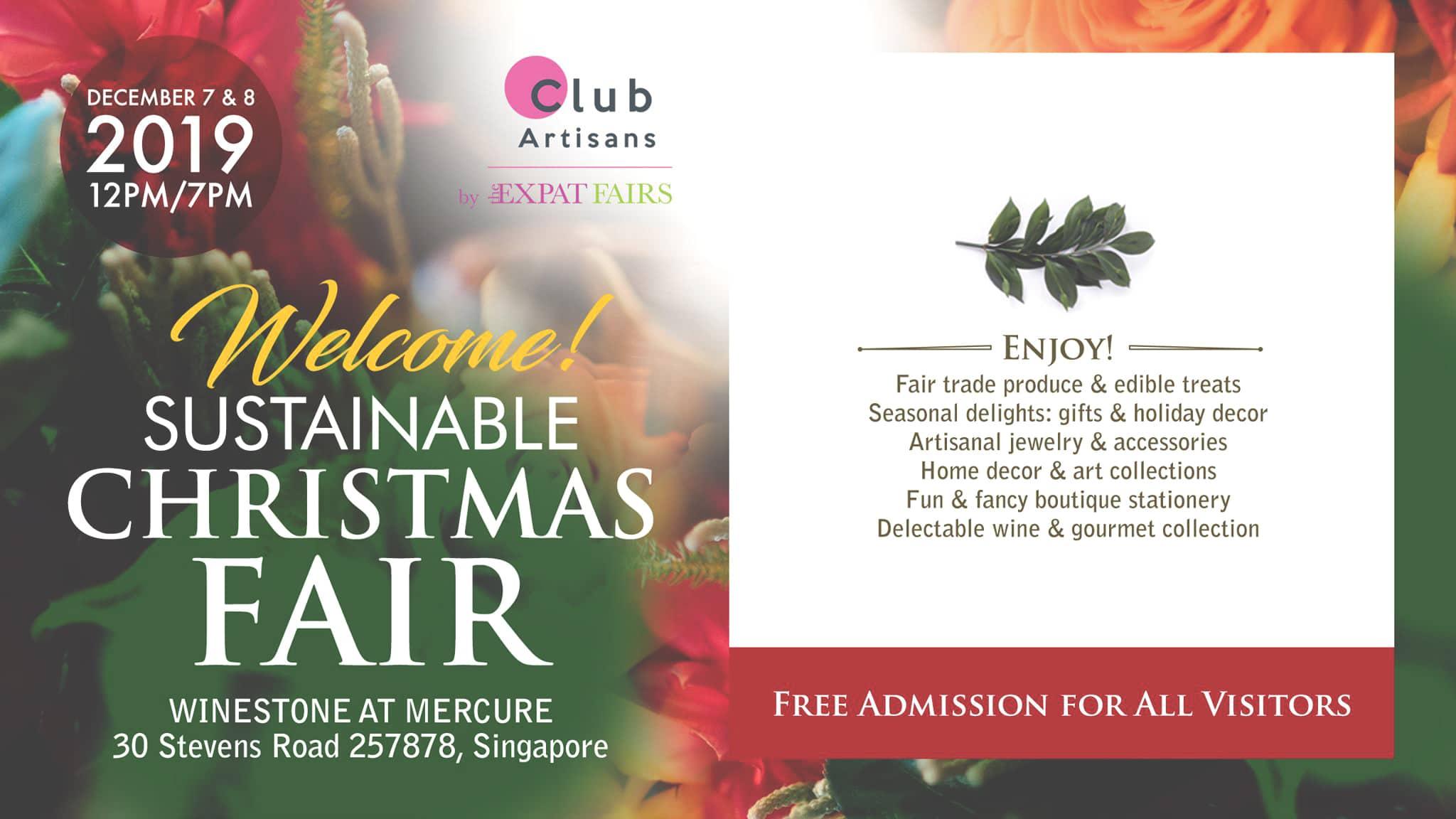 Christmas fair in Singapore