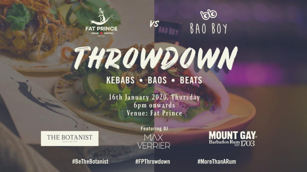 Bao Boy Throwdown Weekend Event in Singapore