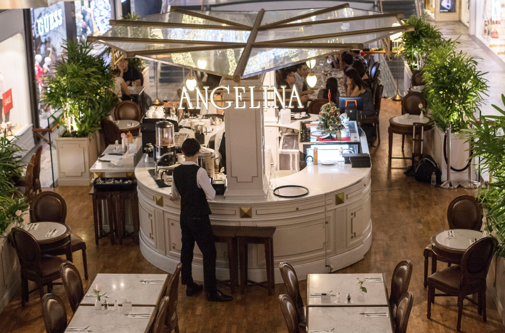 Angelina Best Restaurant in Singapore